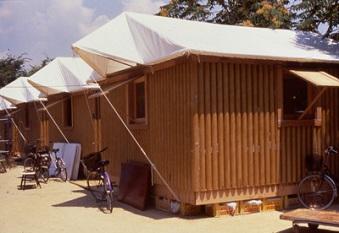 Les maisons de carton de Kobé