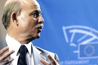 Jeremy Rifkin at the European Parliament - Photo Pietro Naj-Oleari