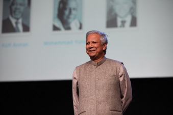 Muhammad Yunus au One Young World